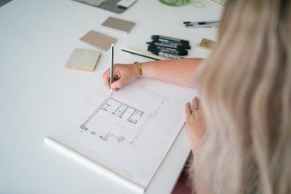 Interieurstylist, interieurontwerper, interiordesign.